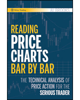 Reading Price Charts Bar By Bar Book Cover