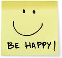 Be Happy Trading Smiley Note