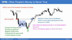 Brooks Trading Course - Other Peoples Money Is Never True