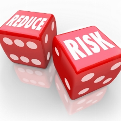 Trading Dice Reduce Risk