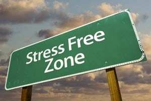 Stress-free Zone Sign