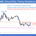 Trump buy climax rally is near 2500 S&P resistance  <br />Intraday market update: July 18, 2017