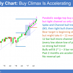 Buy climax at 30th anniversary of 1987 stock market crash  <br />Emini weekend update: October 21, 2017