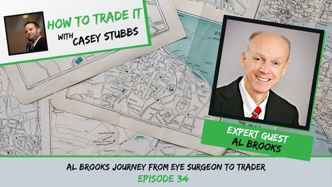 Al Brooks Surgeon to Trader - How to Trade It podcast with Casey Stubbs.