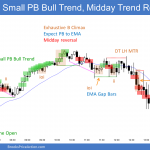 Emini Bull Trend From The Open and Midday Trend Reversal